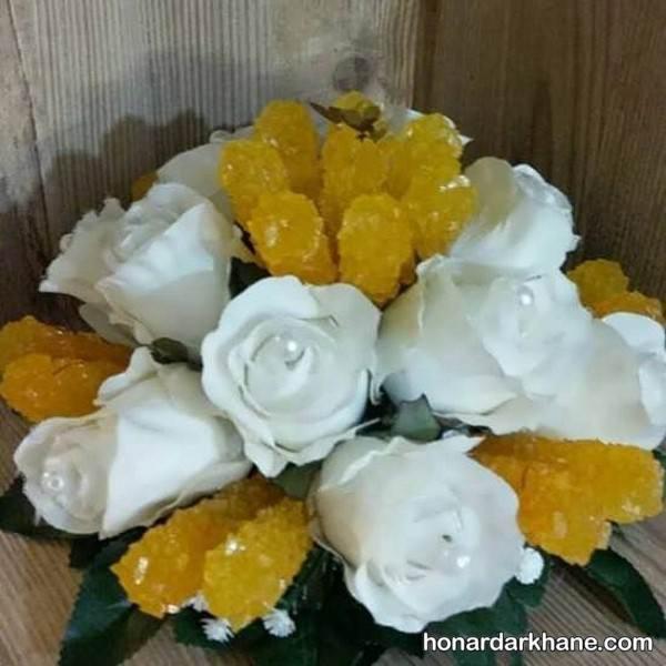 تزیین نبات با گل مصنوعی