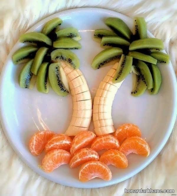تزیین صبحانه کودک به شیوه های جذاب