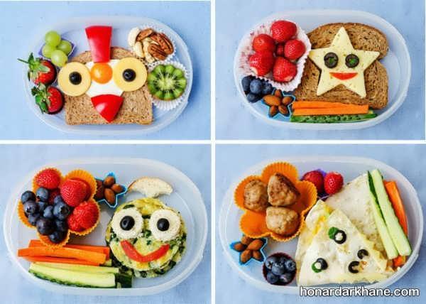مدل های بی نظیر تزیین صبحانه