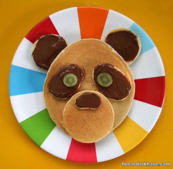 آشنایی با تزیین صبحانه کودک