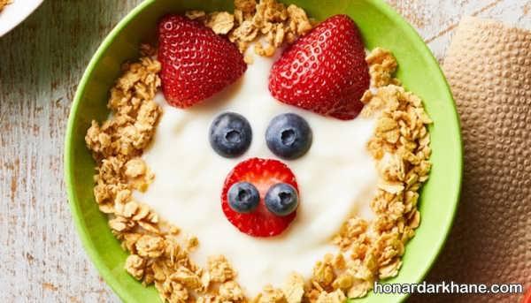 نحوه بکار گیری سبزیجات در صبحانه کودکان