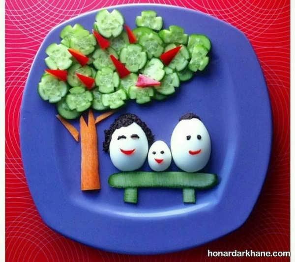 آشنایی مدارس با روش های تزیین ظرف غذا