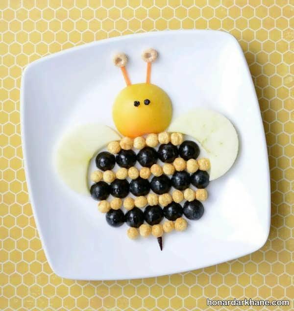 استفاده از مواد سالم ومقوی در تزیین صبحانه