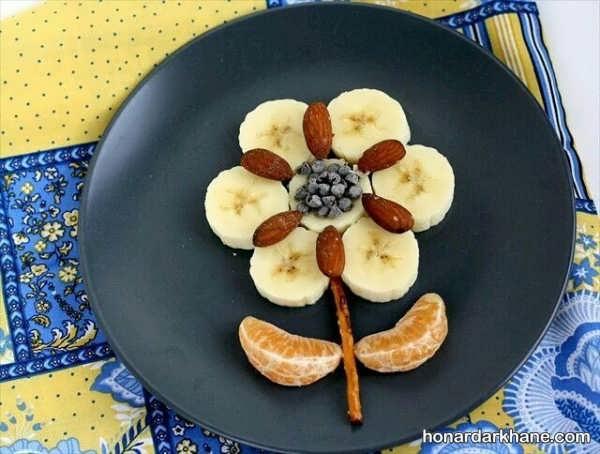 روش های آراستن میز صبحانه