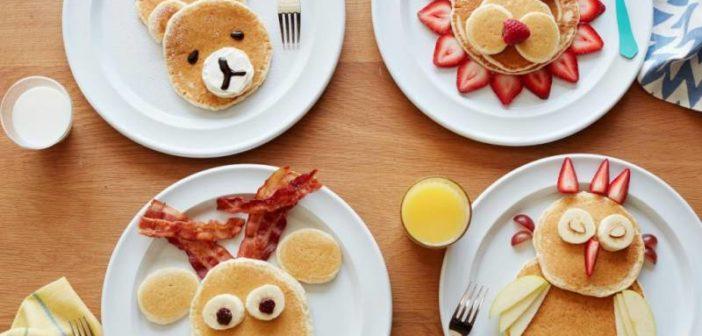 تزیین صبحانه کودک به شیوه های جالب