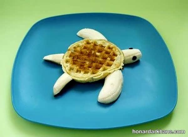 نحوه تزیین صبحانه کودک