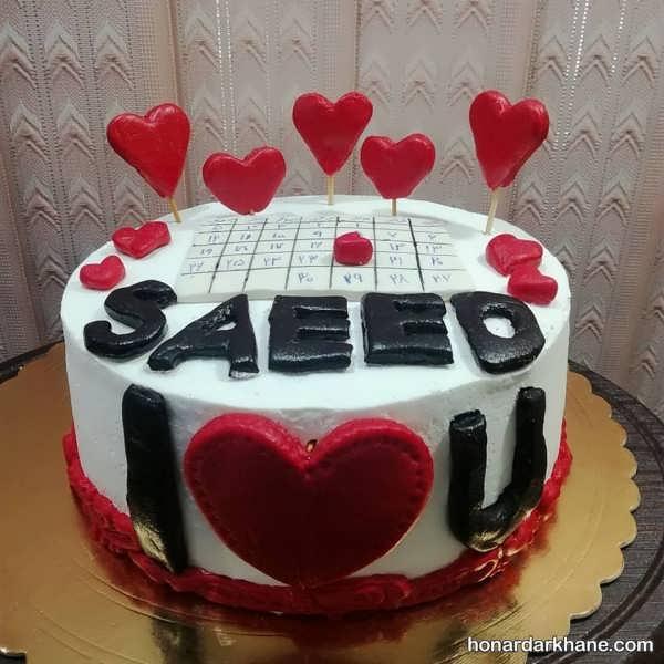 انواع بسیار زیبا تزیین کیک با خامه و شکلات