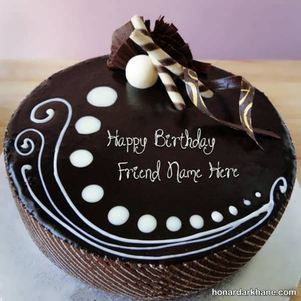 مدل های بی نظیر کیک آرایی با خامه و شکلات
