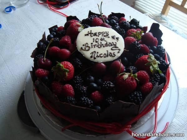 انواع تزیین کیک به شیوه های مختلف