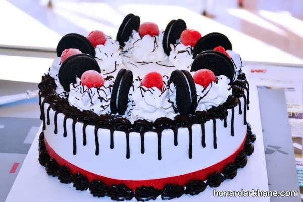 انواع تزیین کیک با سبک های مختلف