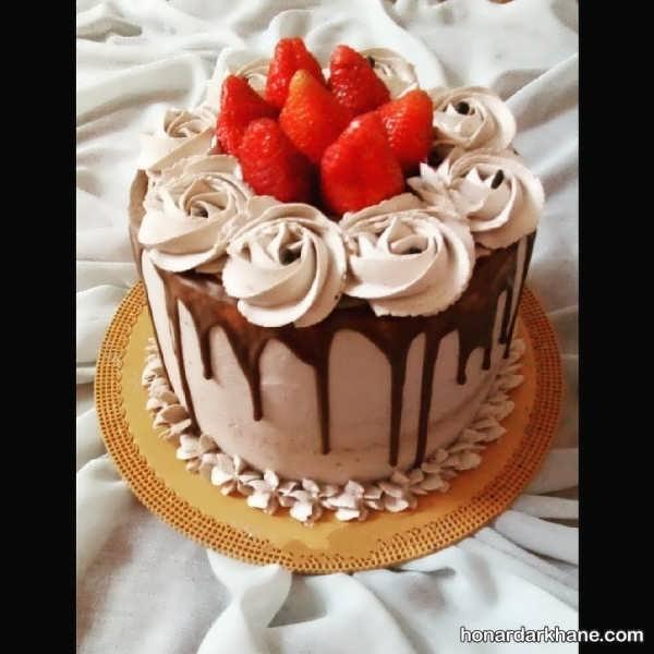 انواع تزیین کیک با ایده های خلاقانه