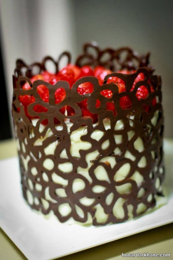 انواع بسیار شیک تزیین کیک
