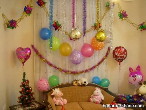 بهترین انواع آراییدن خانه برای تولد