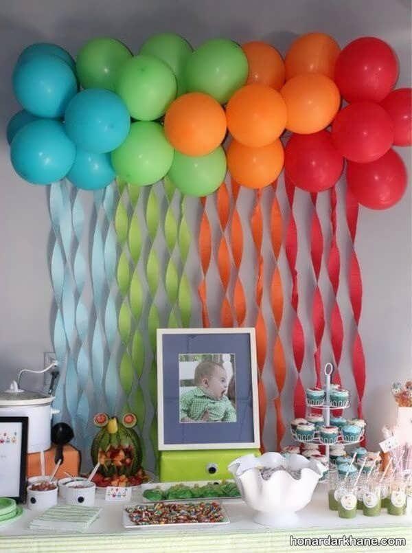 انواع تزیین منزل برای تولد