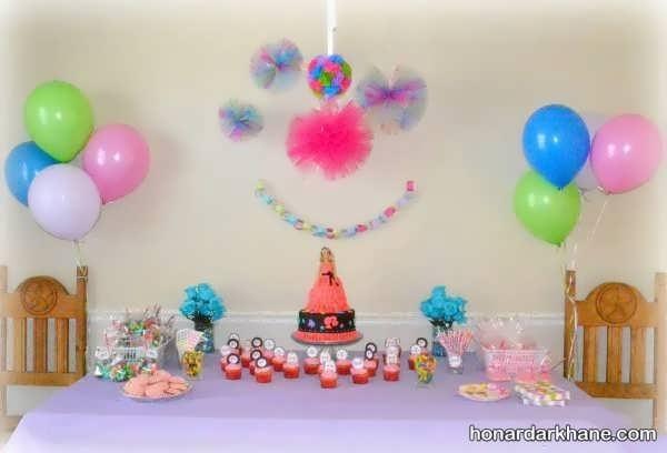 زیبا کردن خانه با ایده های جالب برای تولد