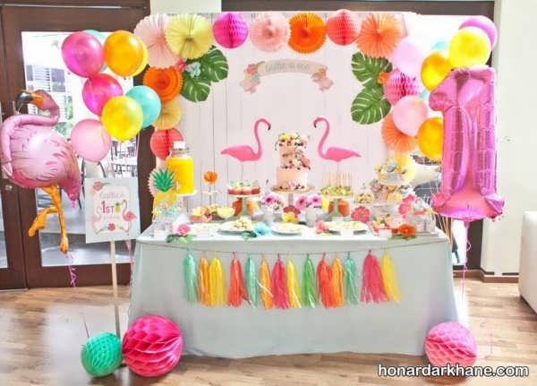 تزیین خانه برای جشن تولد