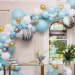 تزیین خانه به شکلی بسیار زیبا برای جشن تولد