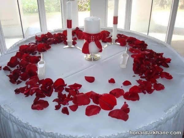 تزیین میز عروس و داماد به شیوه های جذاب