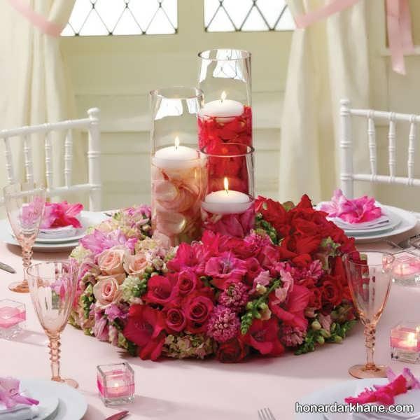 طراحی و زیبا سازی میز به سبکی کاملا جذاب