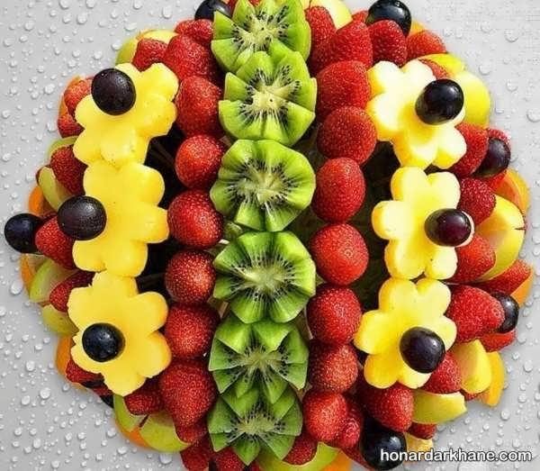 زیباترین مدل های تزیین میوه در سبد