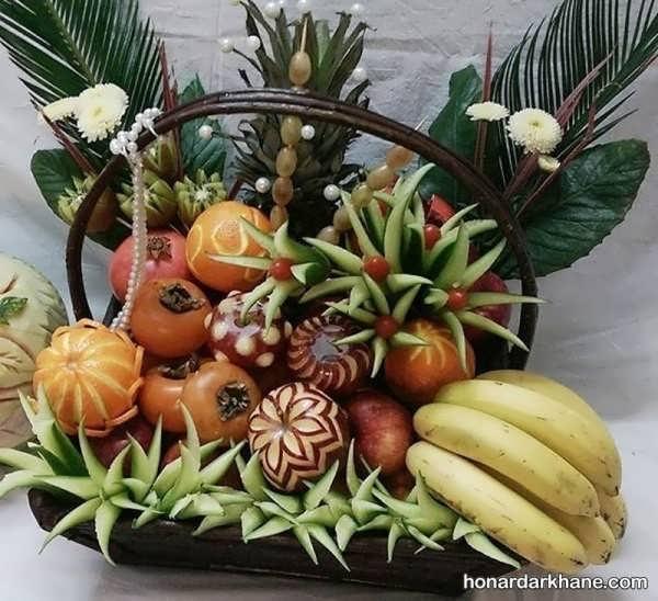 مدل های جالب میوه آرایی در منزل