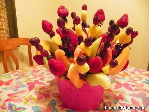 مدل های تزیین میوه با ایده های متنوع