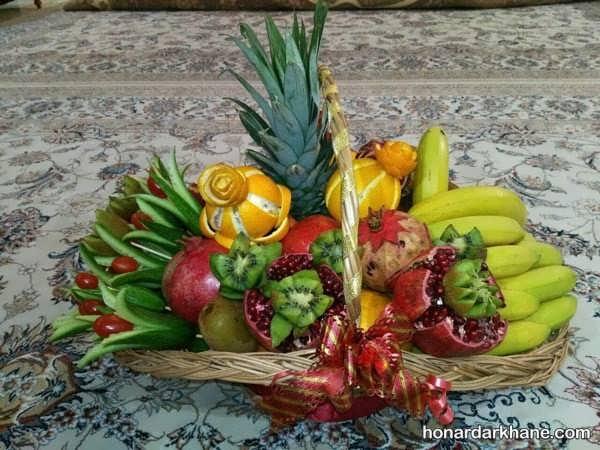 انواع میوه آرایی به شیوه بسیار زیبا