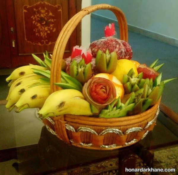میوه آرایی به شکل های مختلف