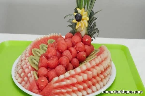 بهترین ایده های میوه آرایی در سبد