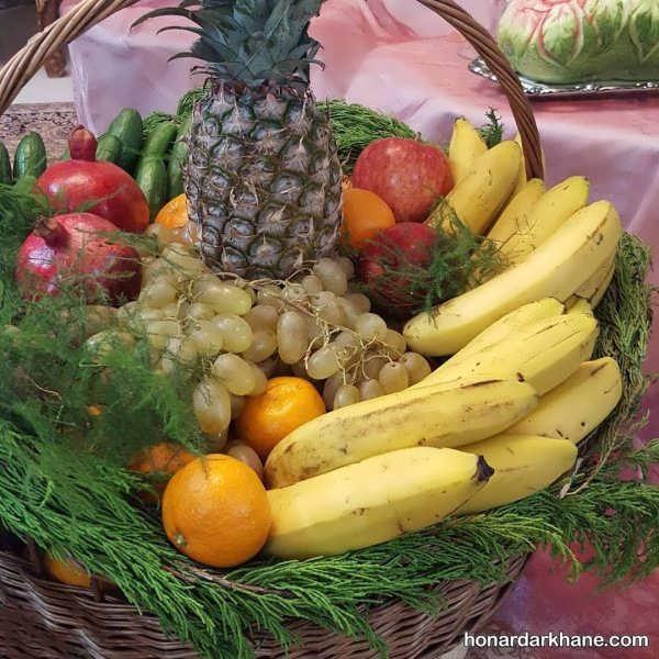 تزیینات جالب میوه آرایی