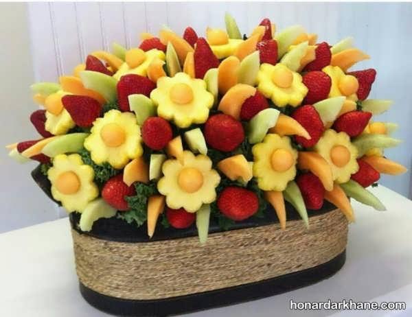 جذاب ترین مدل های میوه آرایی