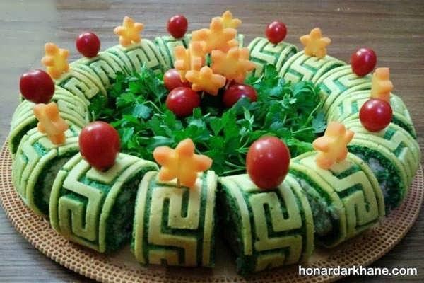 کوکو سبزی را با چه موادی سرو کنیم