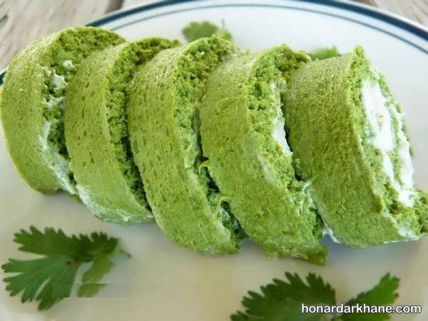 روش پخت بسیار راحت کوکو سبزی