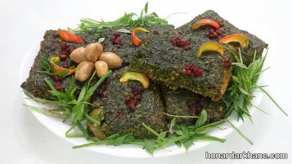 آشنایی با سبزیجات مورد استفاده در تهیه کوکو سبزی