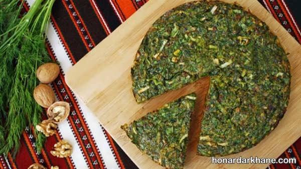 طرز تهیه کوکو سبزی با روشی خوشمزه