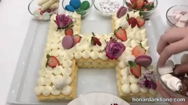 نحوه تهیه کیک سابله بسیار خوشمزه