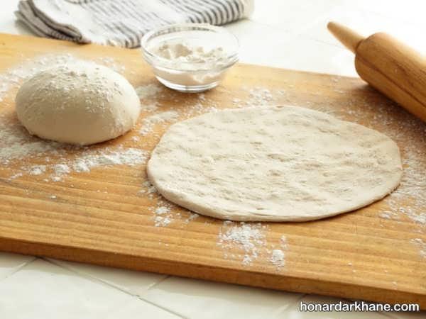 روش پخت پیتزا لذیذ استیک