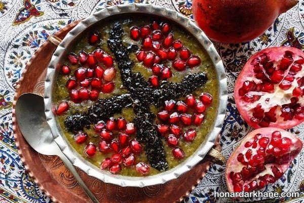طرز تهیه آش انار بسیار خوشمزه