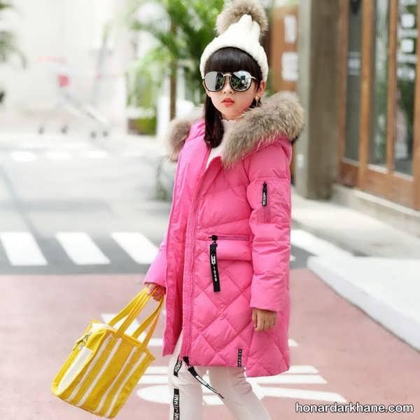 مدل کاپشن دخترانه جدید در رنگ های زیبا