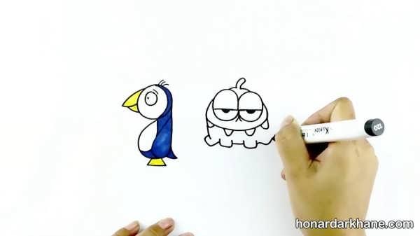 نقاشی راهی برای یادگیری الفبا
