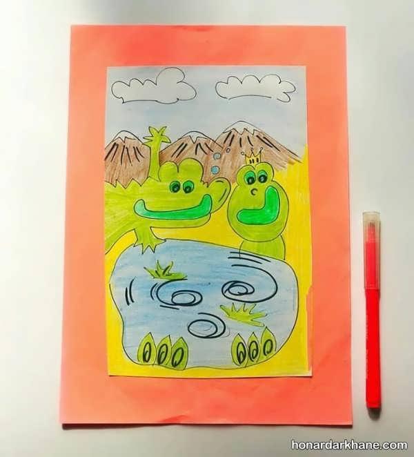 نقاشی کشیدن روشی سریع برای یادگیری الفبا 4