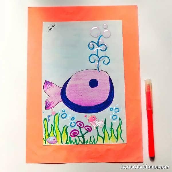 تمرین نقاشی با الفبا