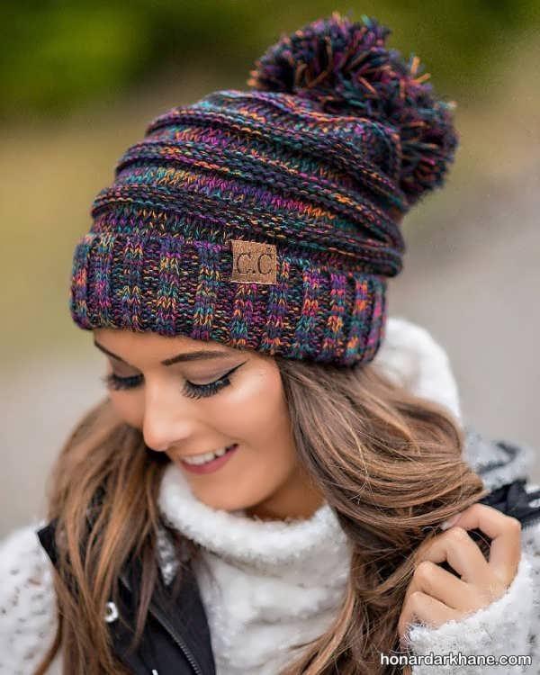 شال و کلاه مناسب زمستانی