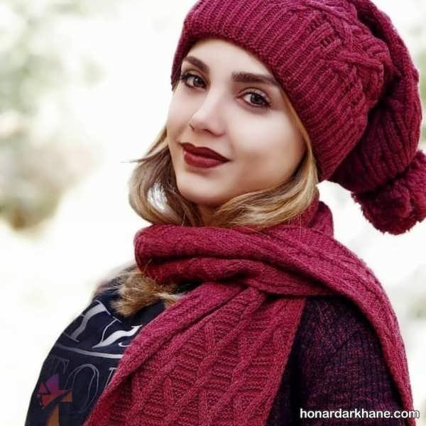 جدیدترین مدل های شال و کلاه زمستانی