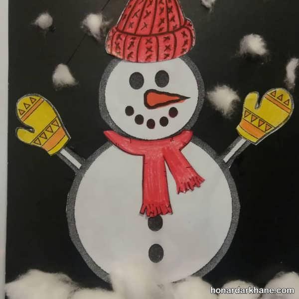 هنرهای دستی زمستانه با زیباترین ایده ها
