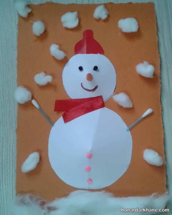 مدل های جالب کاردستی فصل زمستان