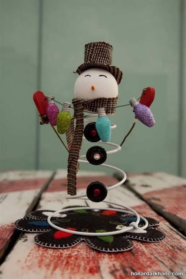کارهای هنری جالب زمستانی در انواع مختلف