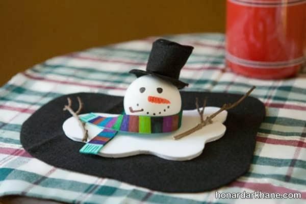 انواع زمستانی هنر های دستی