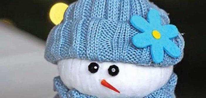 انواع بسیار زیبا کاردستی زمستانی