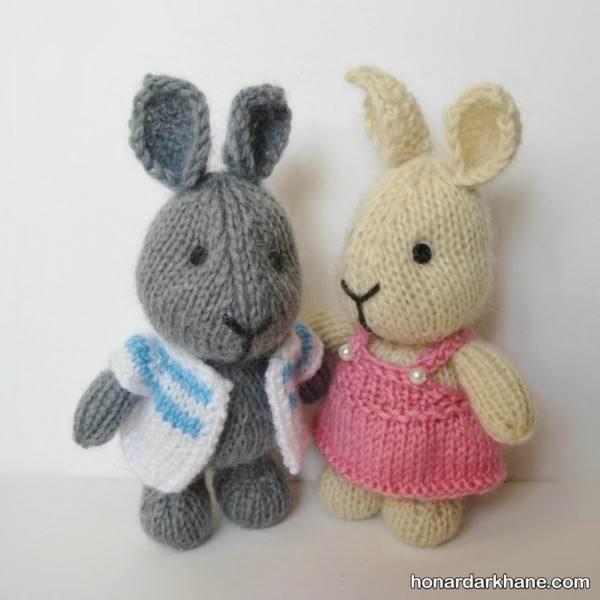مدل عروسک خرگوش بافتنی